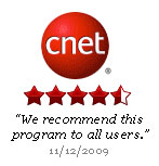 Cnet 4 1/2 Star Rating